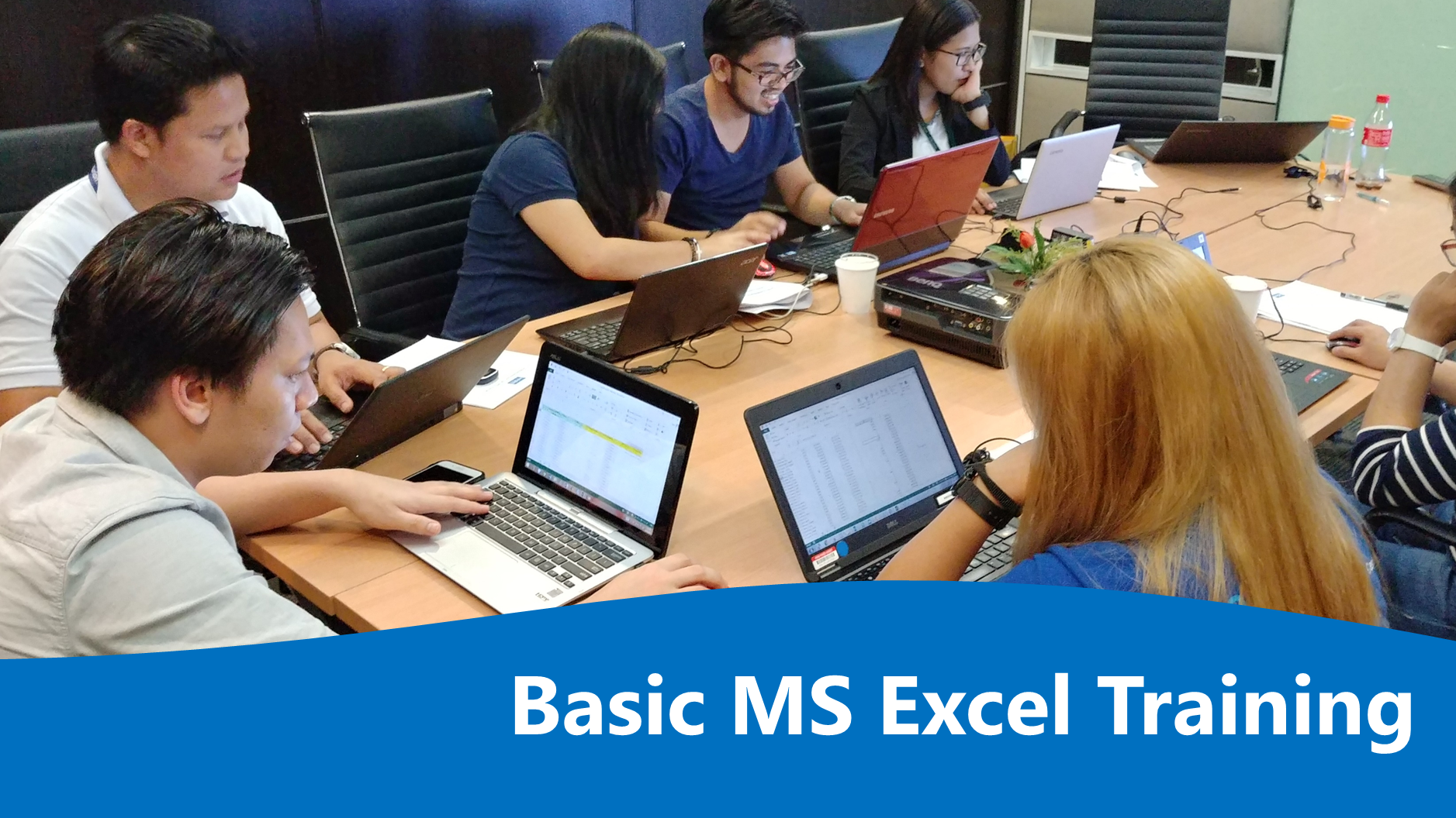 Basic MS Excel 2007 / MS Excel 2010 / MS Excel 2013 - Half Day's Enrollment Cover